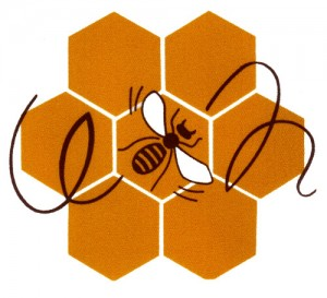 Uudenmaanmehiläishoitajien logo